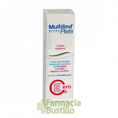 MULTILIND MicroPlata crema para parpados piel atópica 15ml