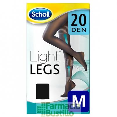 Scholl Medias Compresión Ligera 20 DEN Color Negro
