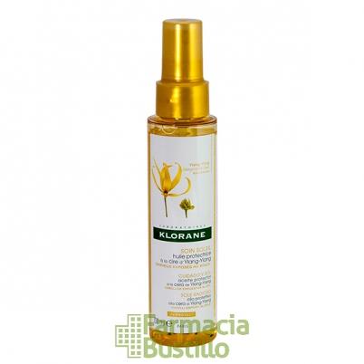 Klorane Aceite protector para cabellos expuestos al sol a la Cera de Ylang-Ylang 100ml