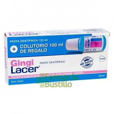 GingiLacer Pasta Dentífrica 125 ml  + REGALO Colutorio 100ml
