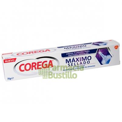 COREGA Máximo Sellado Crema fijadora para prótesis dentales 70g