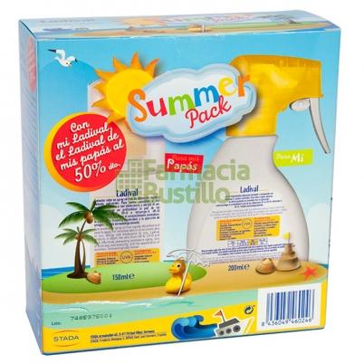 LADIVAL Niños Spray 200ml + Adultos Spray 150ml Pieles Atópicas Protección 50+ 50% Dto 2ª Unidad