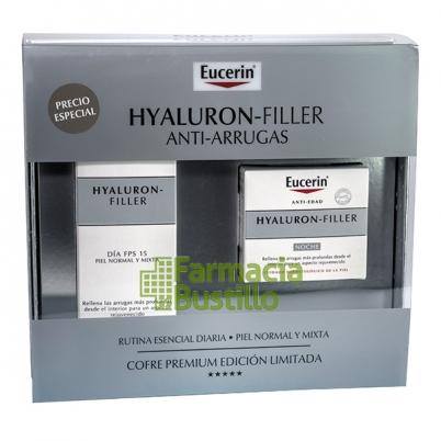 EUCERIN Pack Hyaluron Filler Día Piel Normal/Mixta 50ml + Crema Noche 50ml