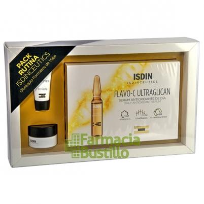 isdinceutics, contorno, ultraglicano, ampollas,  caja, antioxidantes, comprar, pack, minitalla