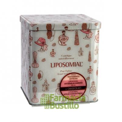 PACK LIPOSOMIAL  Antienvejecimiento Crema Antiarrugas + REGALO Serum Concentradol + CAJA DE LATA