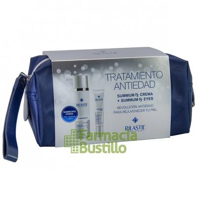 SUMMUN RX Rilastic NECESER Navidad Crema Reparador antienvejecimiento + REGALO Summun Contorno de Ojos