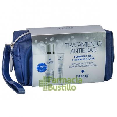 SUMMUN RX Rilastic NECESER Navidad Gel Reparador antienvejecimiento + REGALO Summun Contorno de Ojos