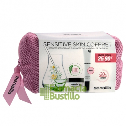 Sensilis Neceser B-RESPECT Calmante Fluido Día SPF15 +  Crema de Noche