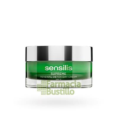 Sensilis SUPREME Renewal DETOX DAY Crema regeneradora con caviar SPF 15