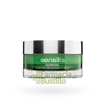 Sensilis SUPREME Renewal Detox NIGHT Crema regeneradora con caviar