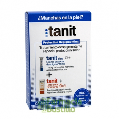 Pack Antimanchas TANIT Plus 15ml + Filtro Solar SPF 50 50ml
