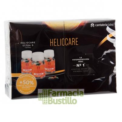 HELIOCARE Ultra D Pack 3x30 Cápsulas Fotoprotector oral y antioxidante
