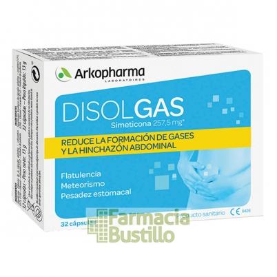 DISOLGAS Arkopharma Bienestar digestivo 32 capsulas