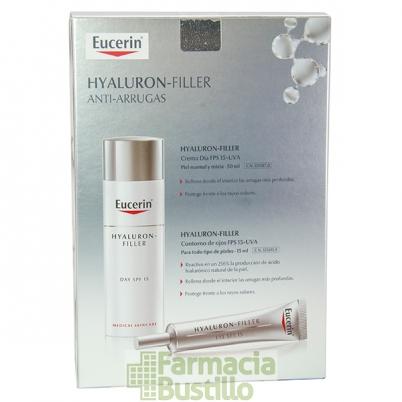 EUCERIN Hyaluron Filler Antiedad Día Piel Normal/Mixta 50ml + REGALO Contorno de Ojos 15ml