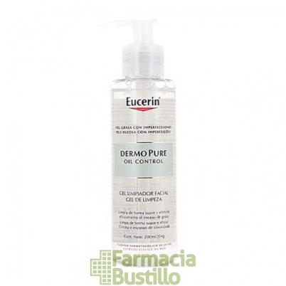 EUCERIN Dermopure Oil Control Gel Limpiador Piel grasa con imperfecciones 200ml