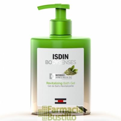 ISDIN BodySenses Gel de Baño Revitalizante con Te Matcha 500ml