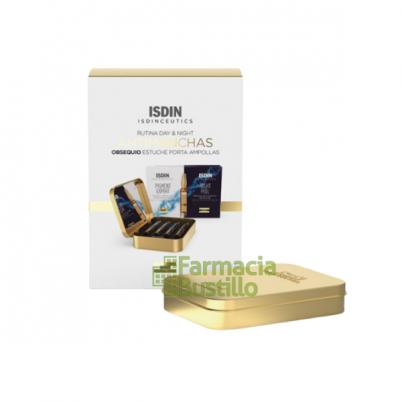 PACK ISDINCEUTICS ANTIMANCHAS Pigment Expert Día y Night Peel + PORTA AMPOLLAS DE REGALO