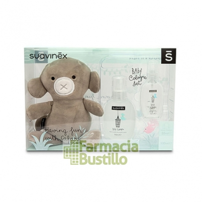 SUAVINEX Colonia Infantil 100ml + Monito y Colonia 50ml de REGALO
