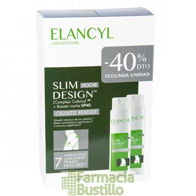 Elancyl DUPLO SLIM DESIGN Noche Anticelulítico Intensivo 200ml 40% 2ª Unidad