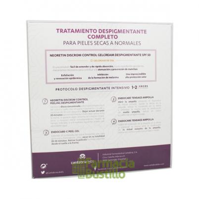 NEORETIN DC GelCrema SPF 50 Despigmentante 40ml + REGALO REGALO Protocolo Despigmentante