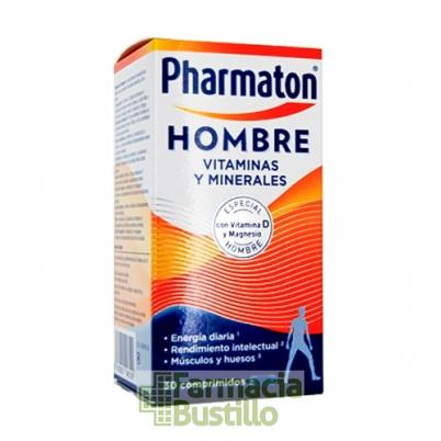 Pharmaton Hombre Vitaminas 30  Cápsulas con Vitamina D y Magnesio