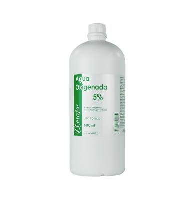 Agua Oxigenada Betafar 5% 1000ml