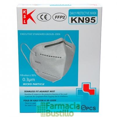 Mascarillas FFP2 KN95 de alta calidad 10 Unidades