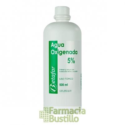 Agua Oxigenada Betafar 5% 500ml