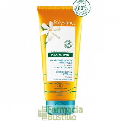 POLYSIANES Champu ducha aftersun para después del sol  200ml