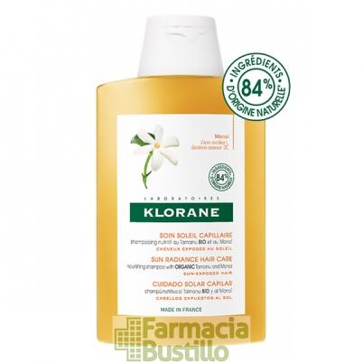 Klorane Champú nutritivo al Monoi para después del sol  200ml
