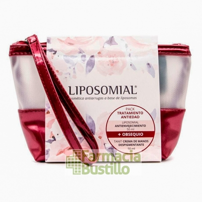 PACK LIPOSOMIAL  Antienvejecimiento 50ml + REGALO Tanit Manos Despigmentante 50ml