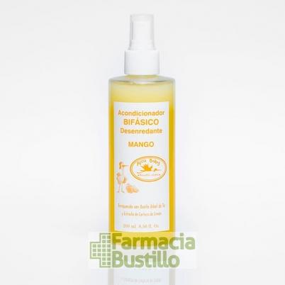 PICU Desenredante Bifásico con Aceite Arbol de Té y aroma a mango