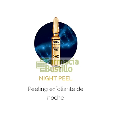 ISDINCEUTICS Night Peel Peeling Exfoliante de Noche 2ml 1 ampolla