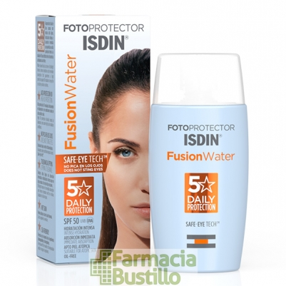 ISDIN Fotoprotector Fusion Water SPF50+ Oil Free  50ml.