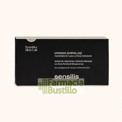 Sensilis UPGRADE Ampollas Tratamiento intensivo 1.5ml x 15 ampollas