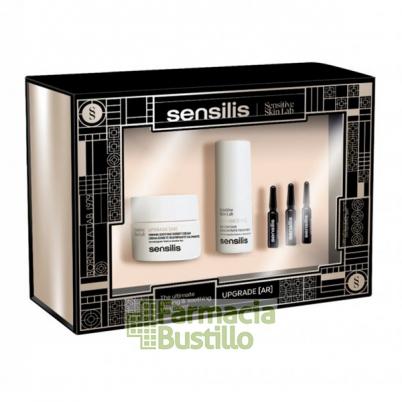 Sensilis Pack Navidad UPGRADE AR Crema Sorbete pieles sensibles reafirma, corrige arrugas y calma rojeces