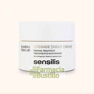 Sensilis UPGRADE Crema Reafirmante de noche 50g