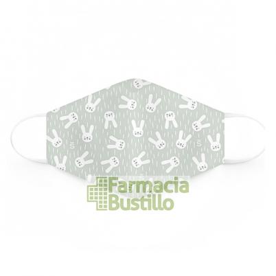 SUAVINEX Mascarillas Lavables 25 lavados 6 a 10 años 2 Unid Verde