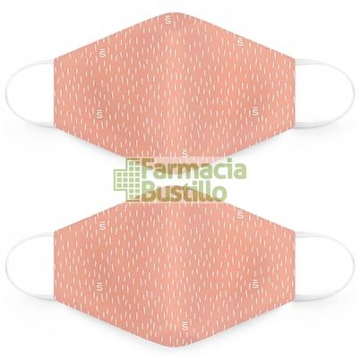 SUAVINEX Mascarillas Lavables 25 lavados adultos 2 Unid Rosa