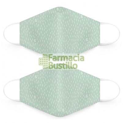 SUAVINEX Mascarillas Lavables 25 lavados adultos 2 Unid Verde