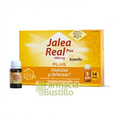 JUANOLA Jalea Real Plus 1000mg 14 viales Vitalidad y Defensas